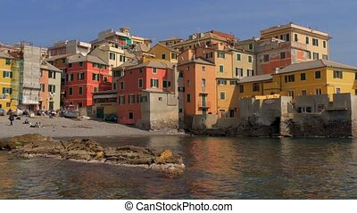 Liguria, Italy, Genoa Boccadasse - Boccadasse is an old...