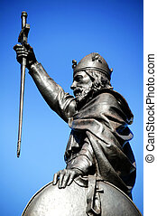 Alfred The Great - King Alfred The Great's statue designed...
