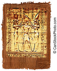 Papyrus of egyptian history