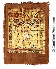 Papyrus of egyptian ancient history