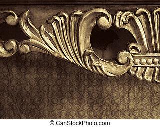 Wooden Furniture Ornament