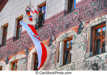 Innsbruck Building, Austria, 2007 - Facade of a Innsbruck...