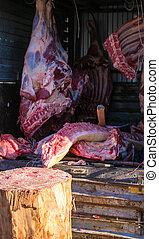 Butchers Wagon
