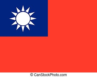 Flag of the Republic of China ,Taiwan Flag