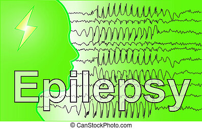 Brain EEG medical Epilepsie - medical background wallpaper...