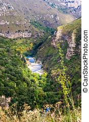 Cava Grande reserve - Cava Grande natural reserve with lakes...