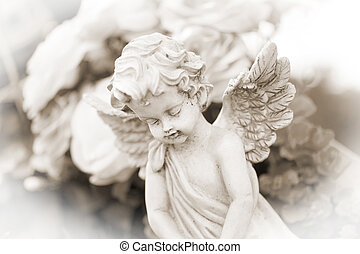 Cemetery - little Angel on a cemetery