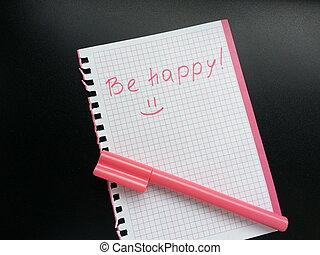 ser, feliz