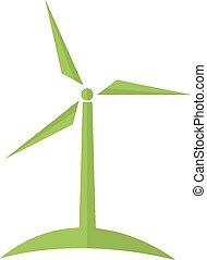 Wind turbine alternative energy.