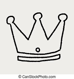 Doodle Imperial crown