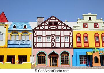 家, ヨーロッパ, スタイルを作られる