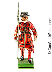 Beefeater statuette (Yeomen Warders of Fortress Tower of...