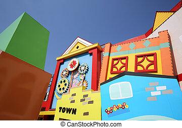 Case, architettura, colorito