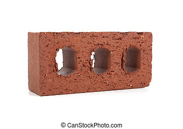 Bricks and a mason\'s trowel
