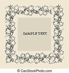 Sample text frame