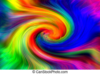 color twirl - nice color background generated by the...