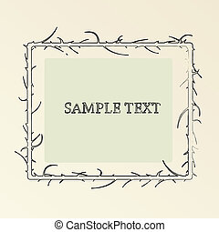 Sample text card