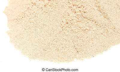 sand - pile of sand isolated on white background
