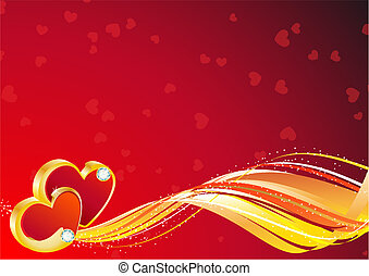 valentine background - vector illustration - valentine\'s...