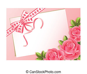 greeting card - Vector illustration - greeting card and...