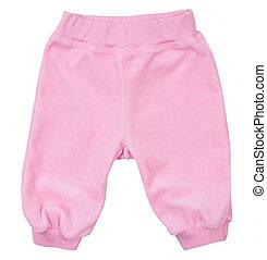 Child Sweatpants isolated on white background - Child...