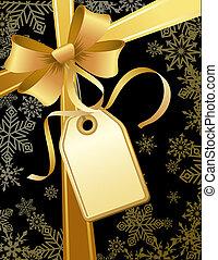 christmas gift - vector illustrations - christmas gift