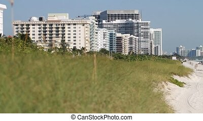 Condos on the beach in South Florida