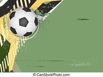 soccer grunge background design