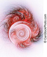 ogień, Spirala,  Totem