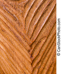 Modern Carved Wood with V Shape Texture Background