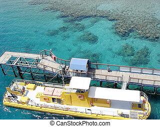 Eilat Oceanarium berth 2005 - Berth of Eilat Oceanarium on...