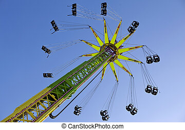 Ride - Very high ride in a luna park