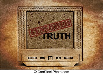Censored truth on TV