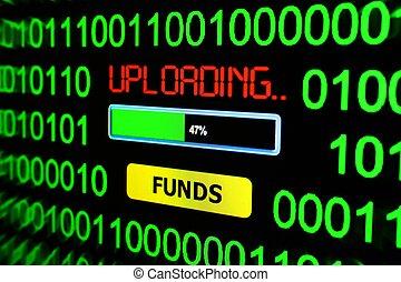 Upload funds