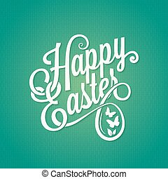 easter vintage sign background - easter vintage spring sign...