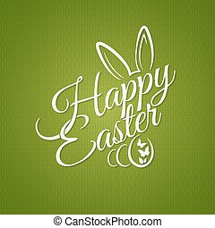 easter vintage lettering design background 10 eps