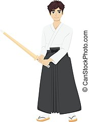 Teen Guy Kendo