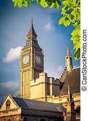 Big Ben tower in London