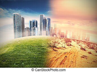 Desertification - Global warming and the end of civilization