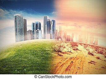 desertificación,