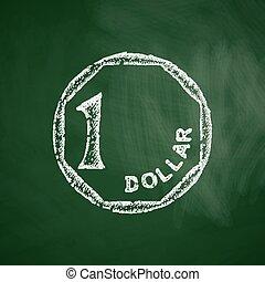one singaporean dollar icon