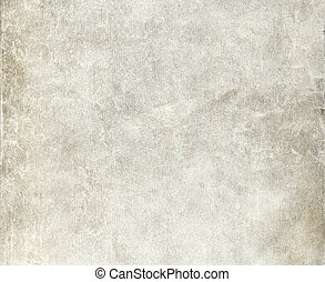 Old wrinkled dirty grey paper sheet for background Closeup