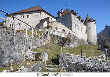Gruyeres castle, Switzerland