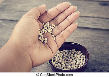 Peppercorns