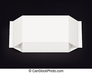 blank packaging bag