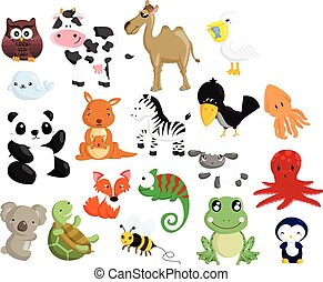 Animal Vector Set 2 - Animal Vector Set