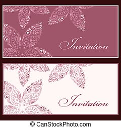 invitation cards - Collection of beautiful invitation...