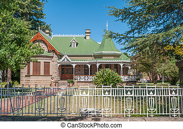 Historic old house in Oudtshoorn - A historic house which is...