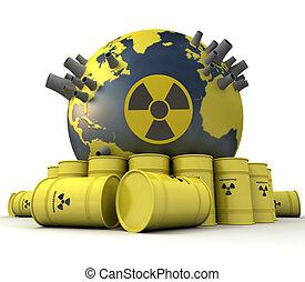 atómico, peligro,