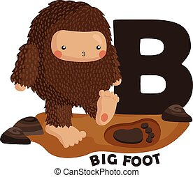 B for Big Foot
